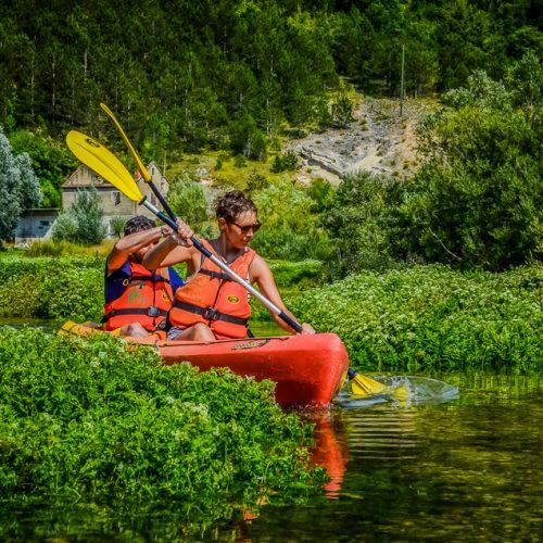 RIVER KAYAKING Kayak adventure tour river Cetina Omiš