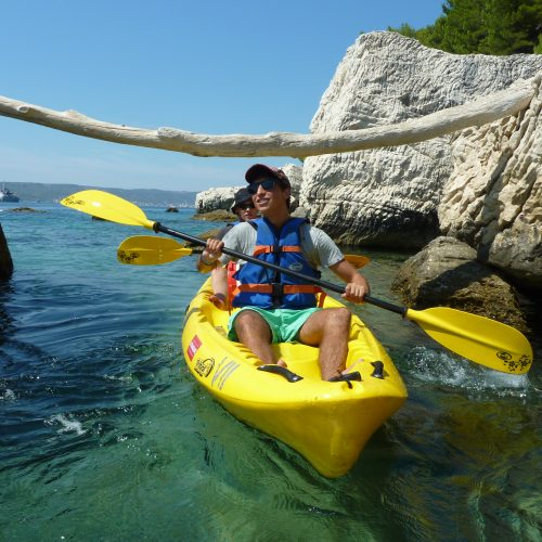Marjan Split Sea kayaking Snorkeling Cliff jumping