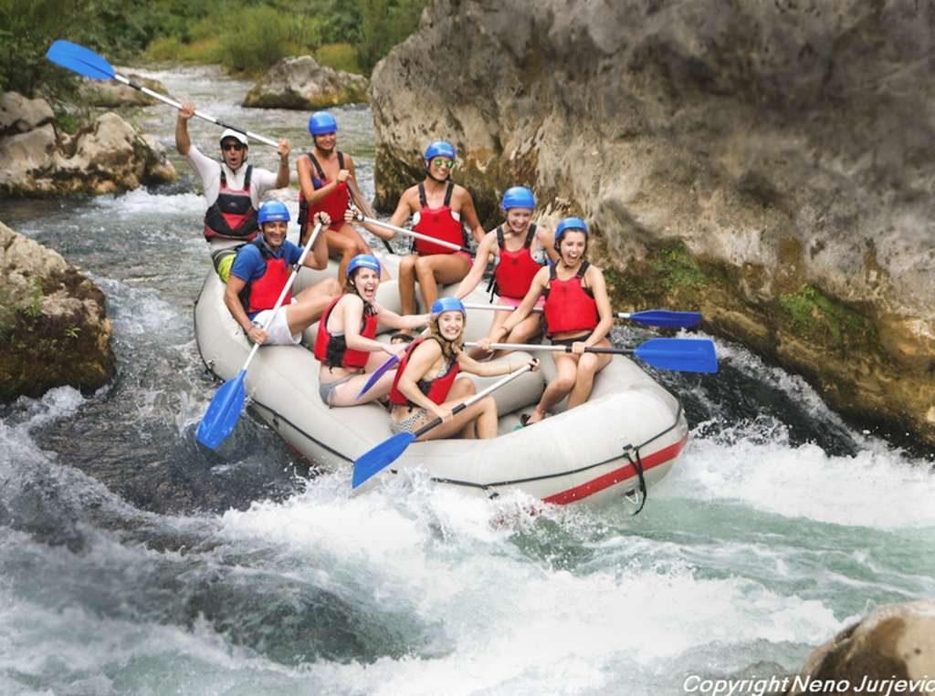 Split Posebna Rafting avantura Cetina Omiš
