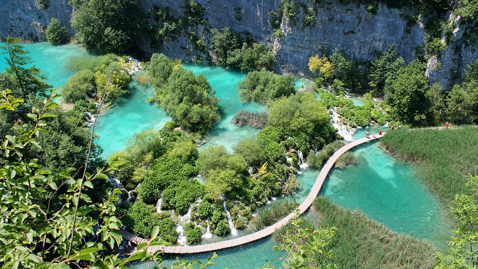 National park Plitvice lakes group Split tour