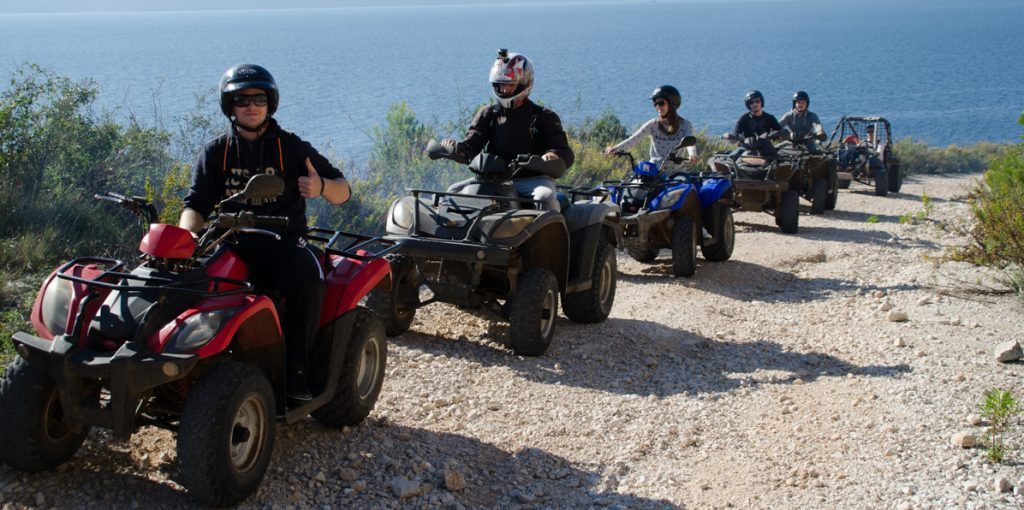 Quad tour adrenaline adventure Split Trogir