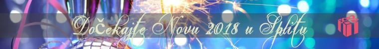 Doček Nove godine u Splitu