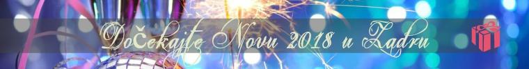 Nova Godina 2018 u Zadru