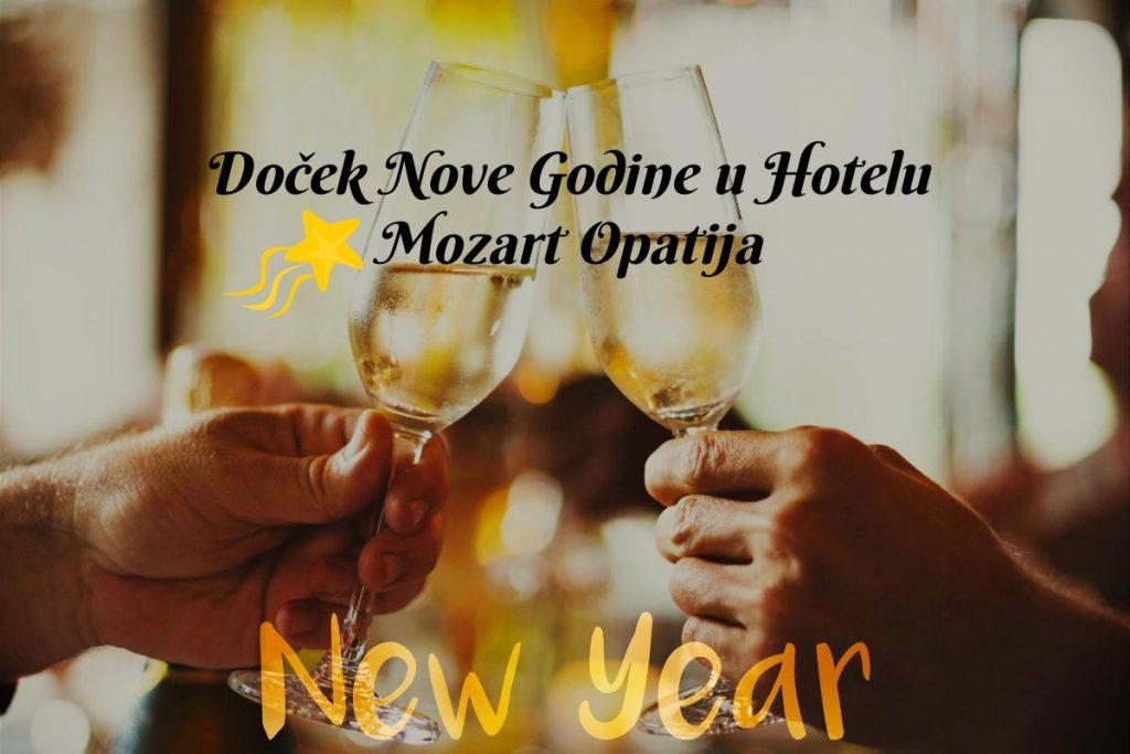 Doček Nove 2020 Hotel Mozart Opatija