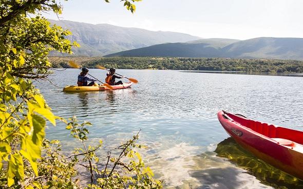 RIVER KAYAKING Kayak avantura rijeka Cetina Omiš