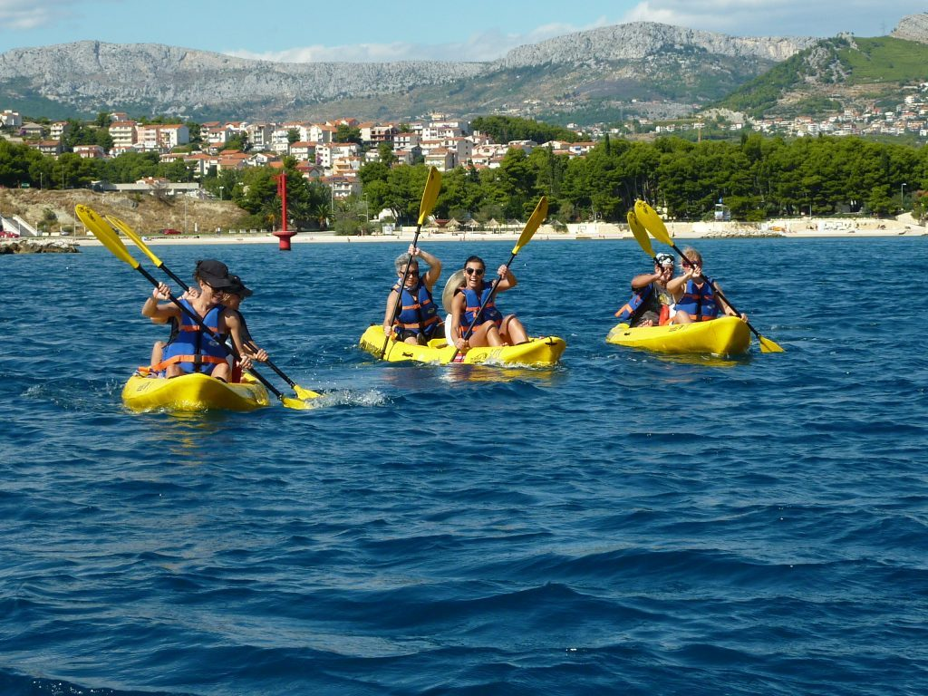 MARJAN Split SEA KAYAKING SNORKELING CLIFF JUMPING