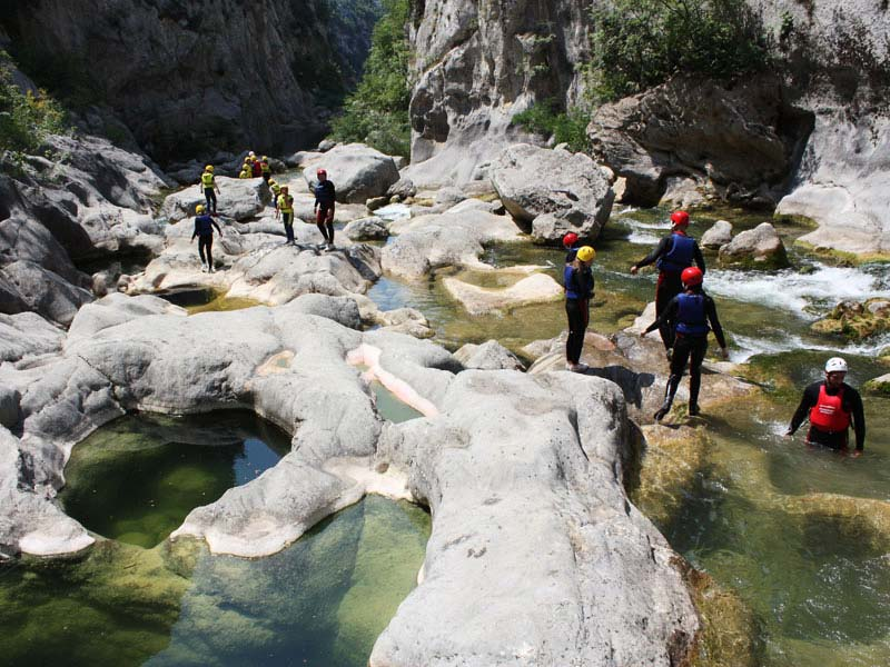 Basic Canyoning adventure tour Split