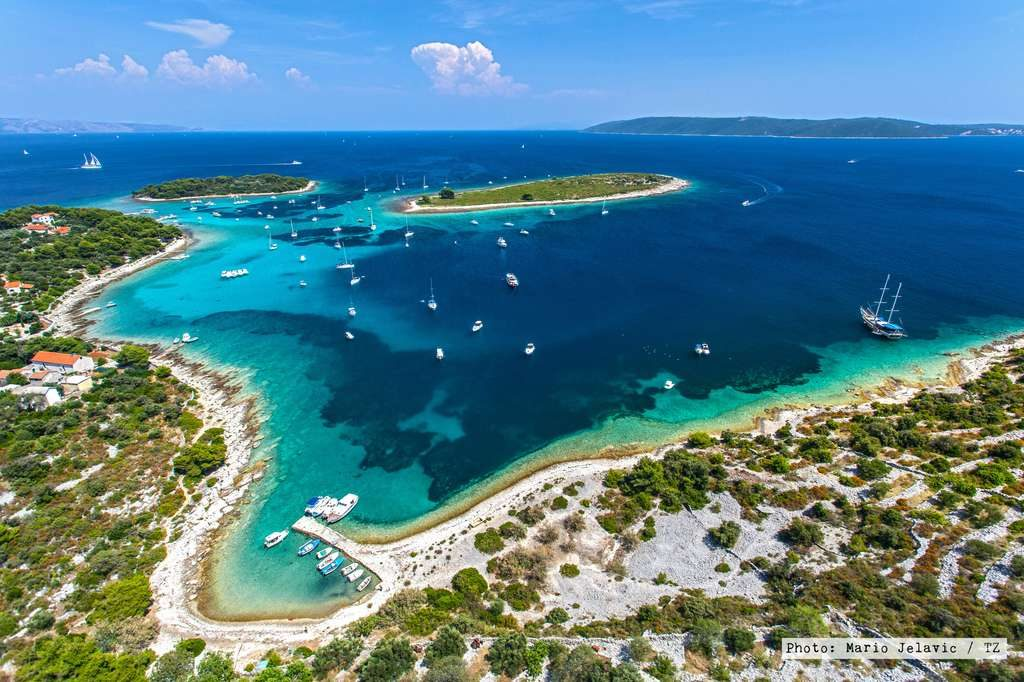Blue Lagoon tour Split Trogir half day