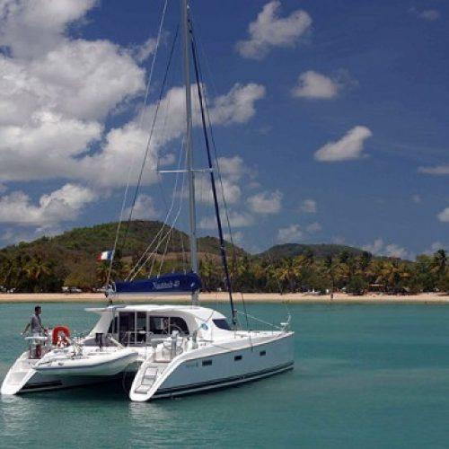 Catamaran Nautitech Open 40 Blue Point