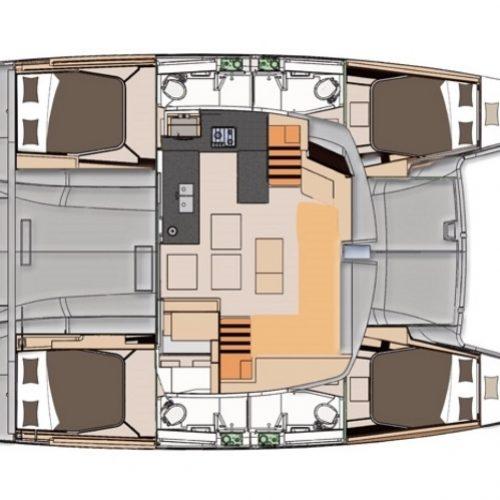 Catamaran Helia 44 Jeredam