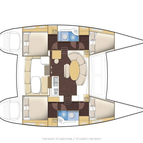 Catamaran Lagoon 380 Catharsis