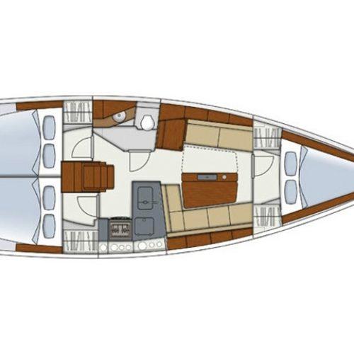 Sailing Yacht Hanse 345 Garti