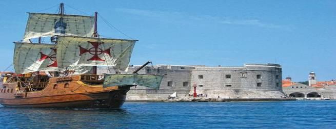 Najam Galijuna Tirena 2019 Dubrovnik