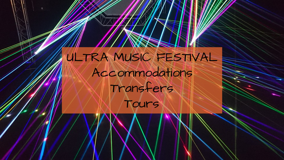 Ultra Europe 2020 Accommodation Tours Transfers