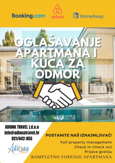 oglašavanje apartmana
